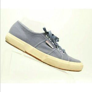 Superga Womens Canvas Sneakers Blue